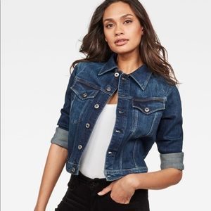 G-STAR WOMEN 3301 CLASSIC DENIM JACKET